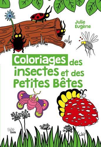 Coloriages des insectes et des petites bêtes