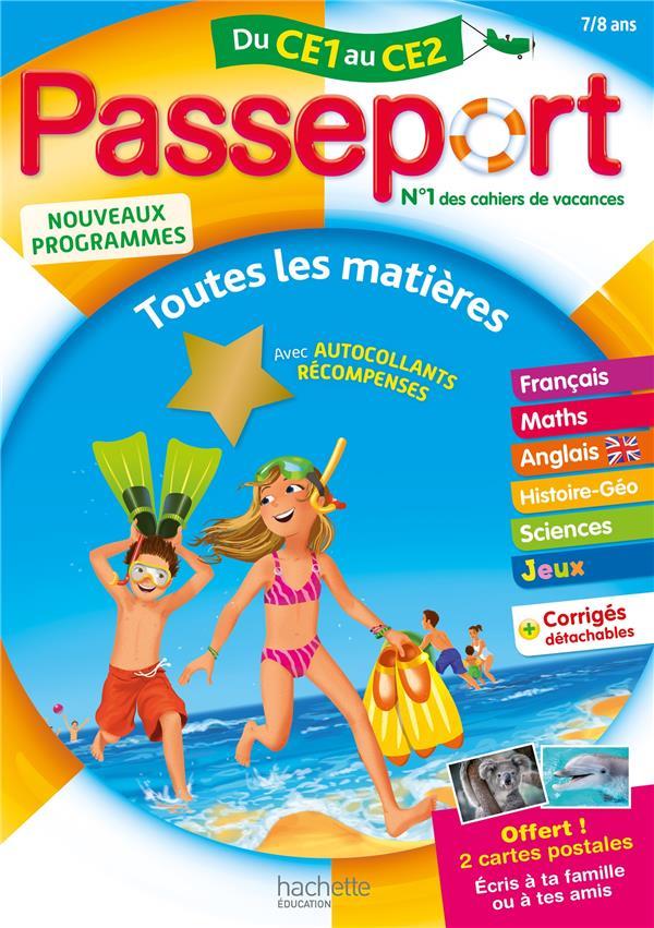 Passeport ; de CE1 au CE2