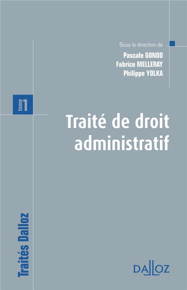 Traite De Droit Administratif. T.1