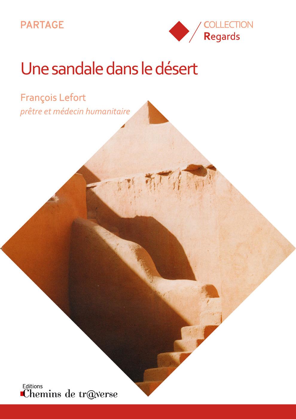 Une sandale dans le desert