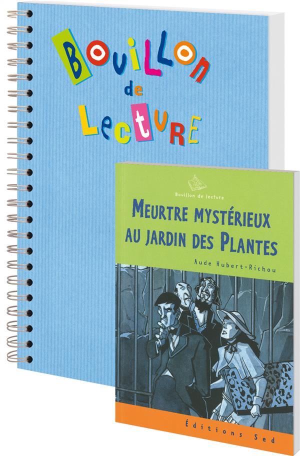 Bouillon De Lecture ; Meurtre Mysterieux Au Jardin Des Plantes ; Cm2 ; 6 Livres Avec Fichier