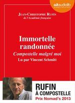 Vente AudioBook : Immortelle randonnée  - Jean-Christophe Rufin