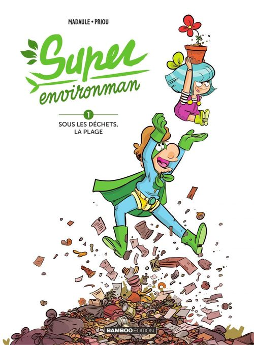 Vente EBooks : Super environman - Tome 1  - Bruno Madaule
