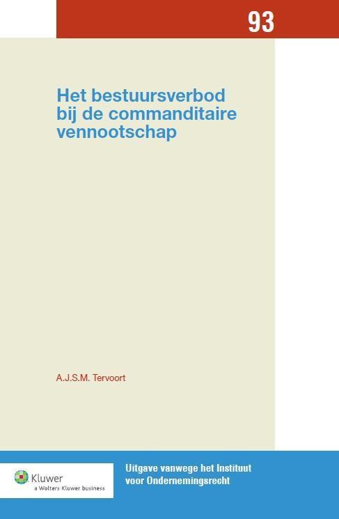 Het bestuursverbod bij de commanditaire vennootschap