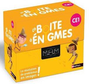 Mhm ; boîte à énigmes CE1 (édition 2020)