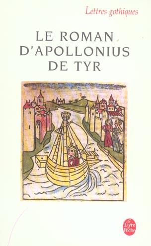 Le Roman D'Apollonius De Tyr
