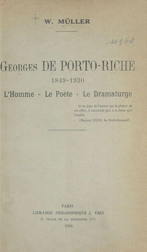Georges de Porto-Riche (1849-1930)