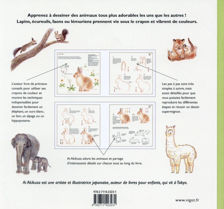 Dessiner Des Animaux Supermignons En Couleurs Ai Akikusa Vigot Grand Format Le Hall Du Livre Nancy