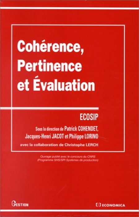 Cohérence, pertinence et évaluation