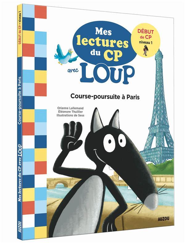 Mes lectures du CP avec Loup ; Paris