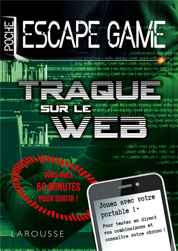 Escape game de poche ; traque sur le web