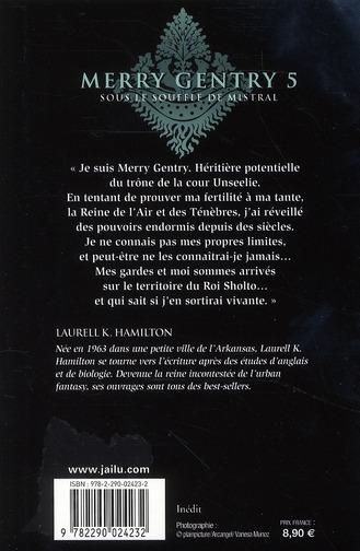 Merry Gentry T.5 ; sous le souffle de mistral
