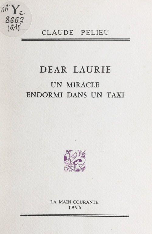 Dear Laurie