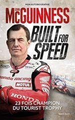 Vente Livre Numérique : Built for Speed  - John McGuinness