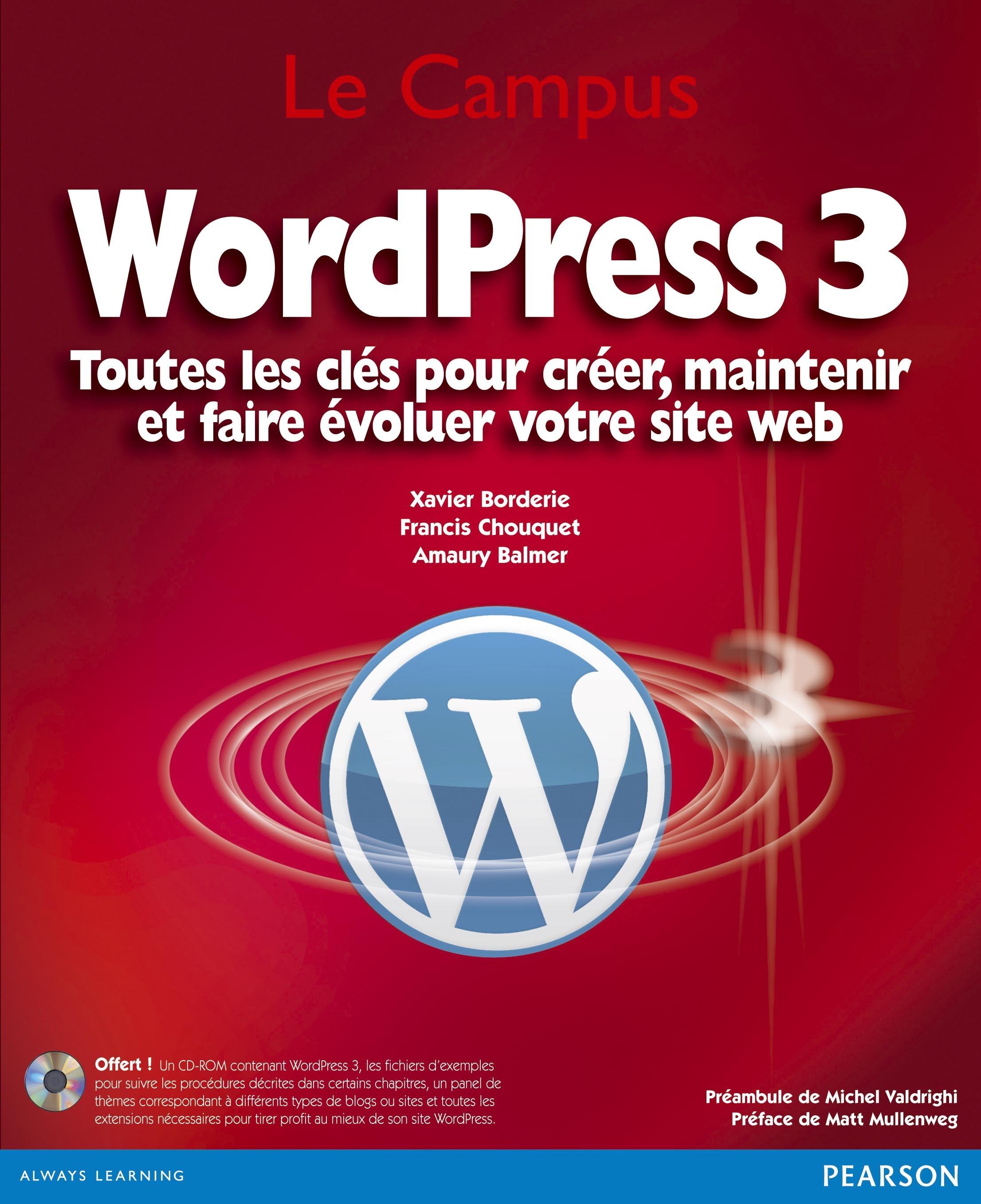 WordPress 3 ; toutes les clés pour créer, maintenir et faire évoluer votre site web