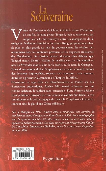 Impératrice Orchidée t.2 ; la souveraine