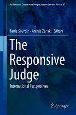 The Responsive Judge  - Tania Sourdin - Archie Zariski