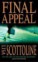 Vente Livre Numérique : Final Appeal  - Lisa Scottoline
