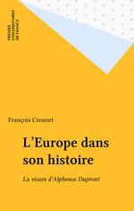L'Europe dans son histoire