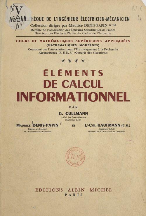 Cours de mathématiques supérieures appliquées (4)