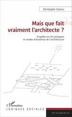 Vente EBooks : Mais que fait vraiment l'architecte ?  - Christophe Camus