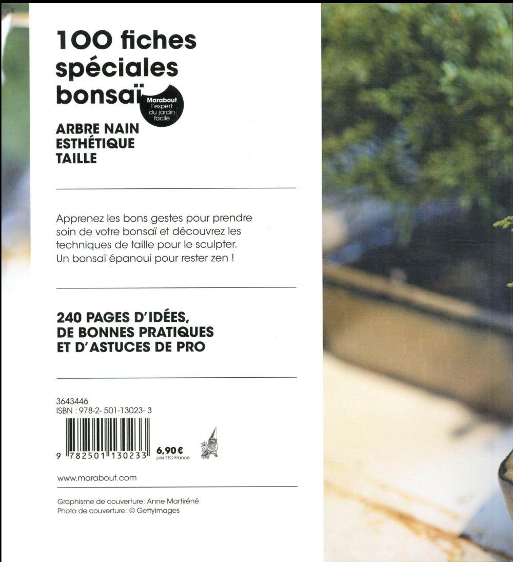 100 fiches spéciales bonzaïs