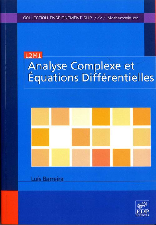 Analyse complexe et équations differentielles
