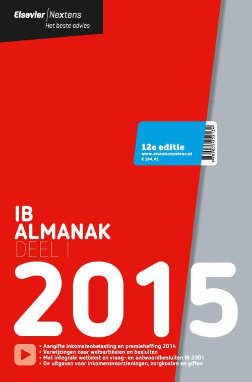 Elsevier IB almanak - 2015 - deel 1