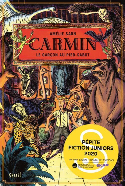 Carmin, tome 1 - Pépite Fiction Juniors Montreuil 2020