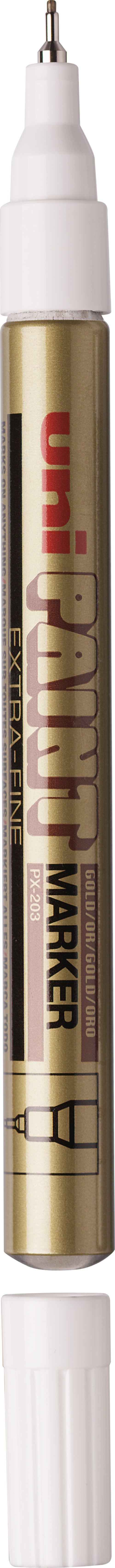 MARQUEUR UNI PAINT MARKER OR POINTE EXTRA-FINE