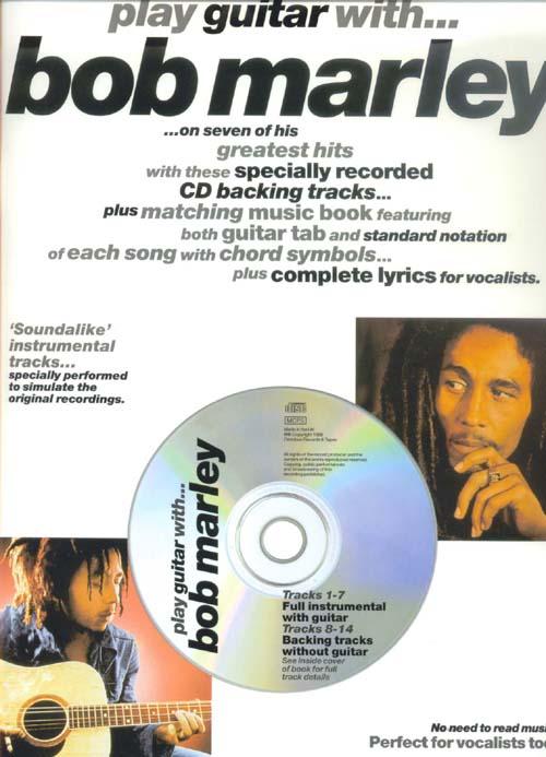 Marley Bob Play Guitar With Cd
