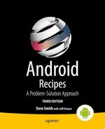 Android Recipes  - Jeff Friesen - Dave Smith
