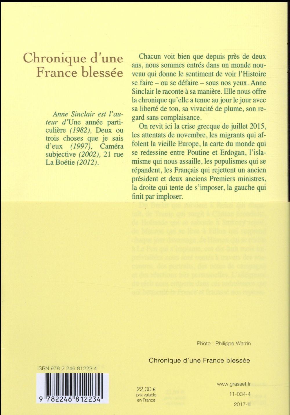 Chronique d'une France blessée