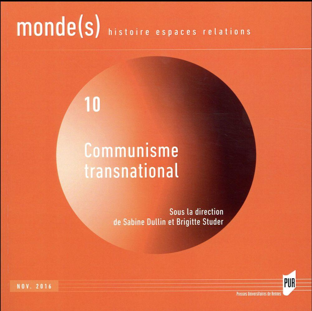 Communisme transnational (édition 2016)