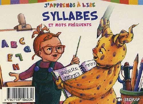 J'apprends à lire ; syllables et mots fréquents
