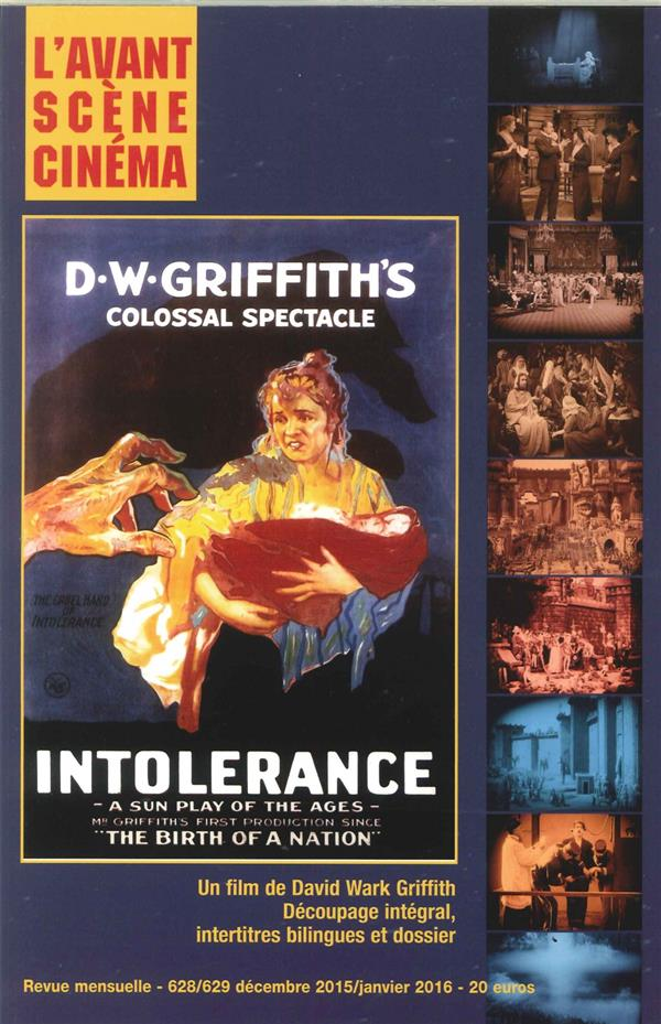 L'avant-scene cinema t.628 ; intolerance david wark griffith