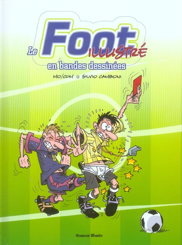 Le foot illustre en bandes dessinees