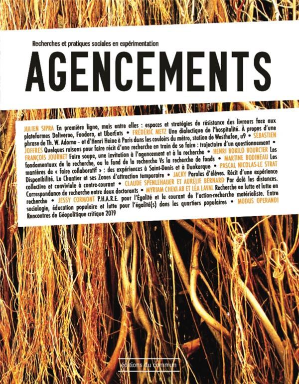 Agencements ; recherches et pratiques sociales en experimentation n.3