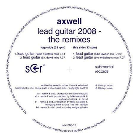 lead guitar 2008