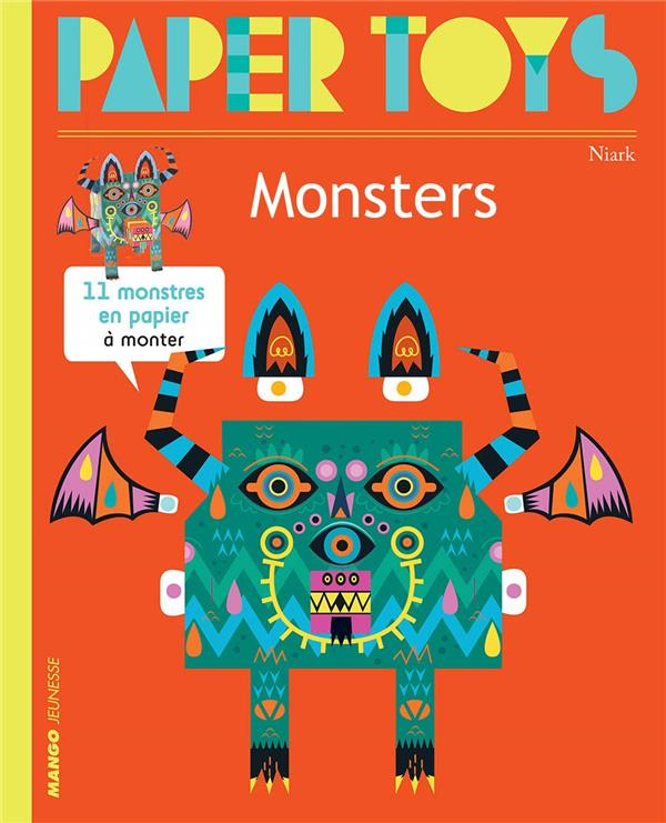 Paper toys - monsters (new edition)