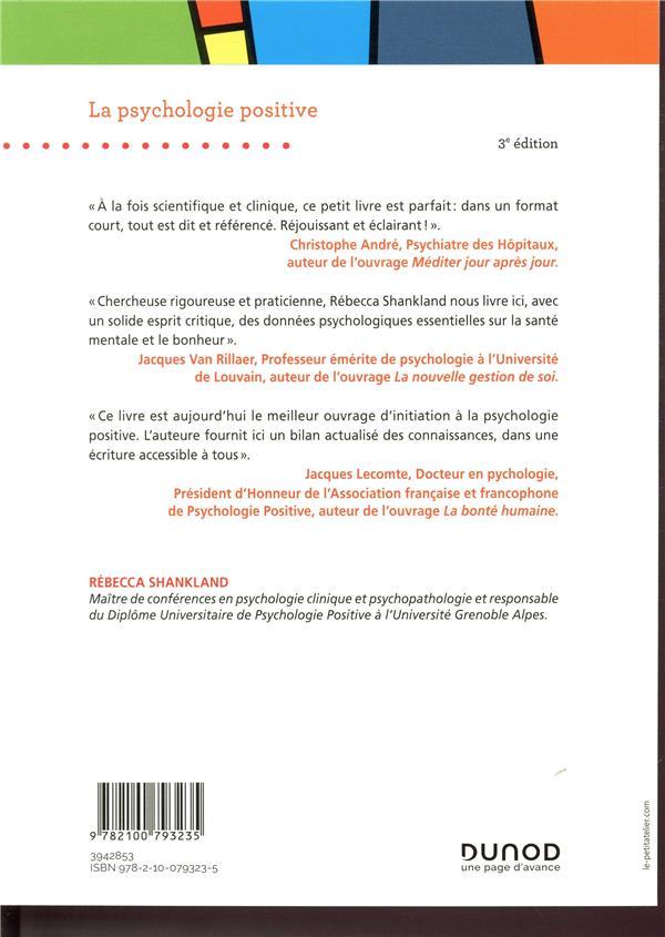 La psychologie positive (3e édition)