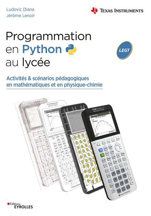 Utiliser Python en mathématiques et physique-chimie au lycée