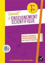 Carnet d'enseignement scientifique ; 1re, terminale ; carnet de l'élève (édition 2020)