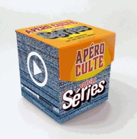Mini-boîte apéro culte ; spécial séries