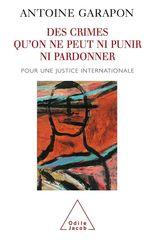 Vente Livre Numérique : Des crimes qu'on ne peut ni punir ni pardonner  - Antoine GARAPON