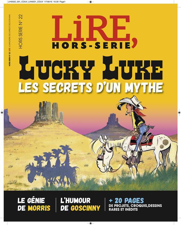 Lire ; hors-serie n°22 ; lucky luke ; les secrets d'un mythe