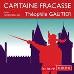 Vente AudioBook : Capitaine Fracasse  - Théophile Gautier