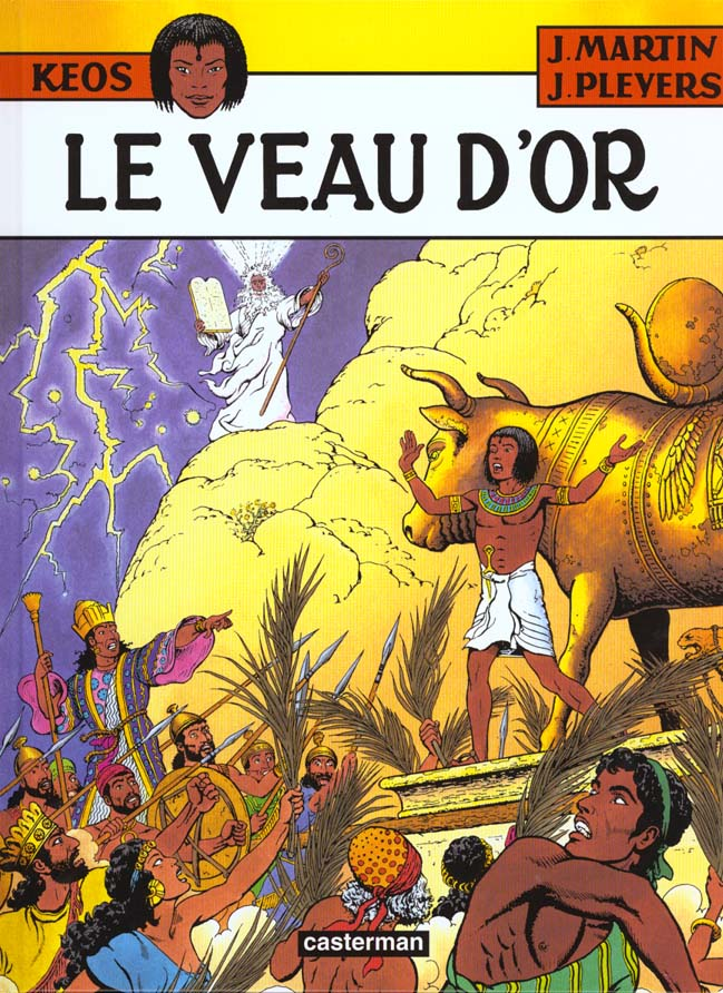 KEOS T.3 ; keos t.3 ; le veau d'or