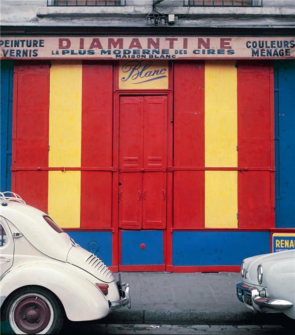 Marchands de couleurs ; une série d'ektachromes de Gérard Ifert