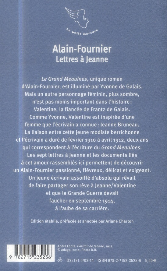 Lettres à Jeanne